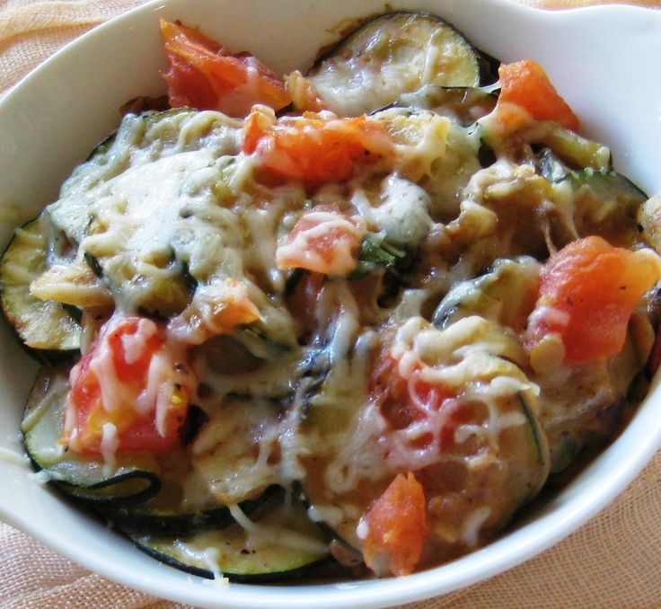 Lightened Up Zucchini Gratin Recipe — Dishmaps