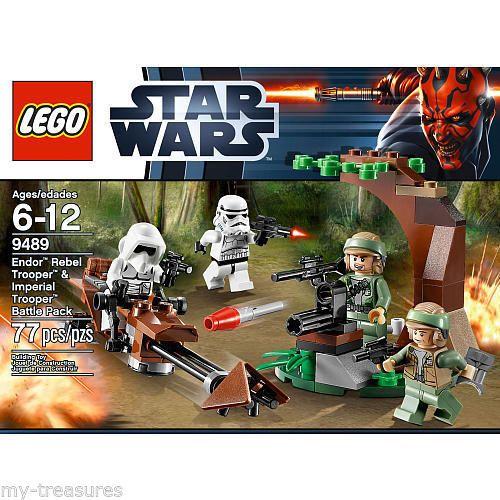 lego star wars minifig endor figure minifigure