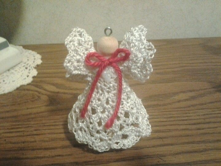 Free Crochet Patterns Clothespin Angels : Crocheted clothespin angel crochet Pinterest