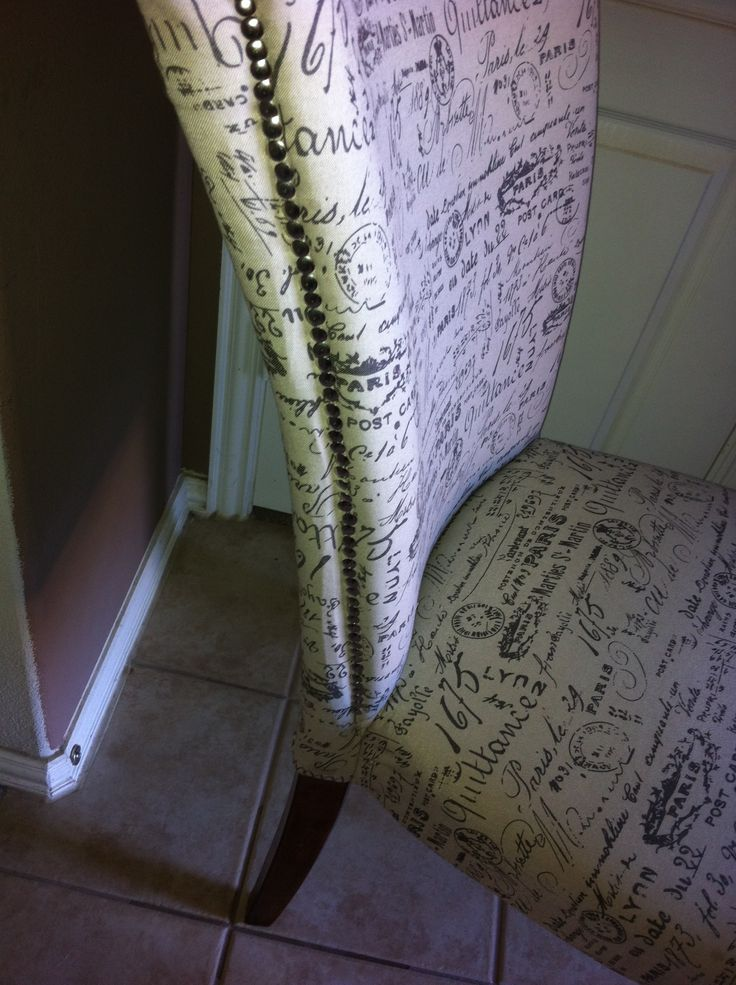 DIY Upholstered Dining Chair DIY Pinterest