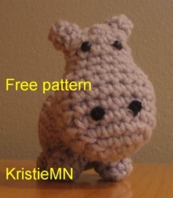 Happy Hippo Crochet Pattern Crochet Pinterest