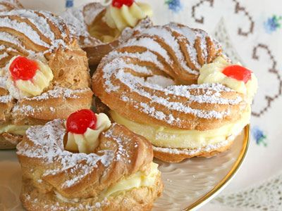 chocolate zeppole di san guiseppe recipes dishmaps zeppole di san ...