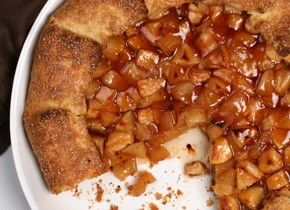 Spiked Apple Galette | Recipe