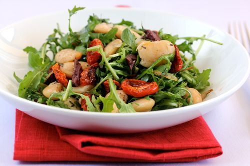 Butter bean and roasted tomatoes salad | Yummies and noshes | Pintere ...