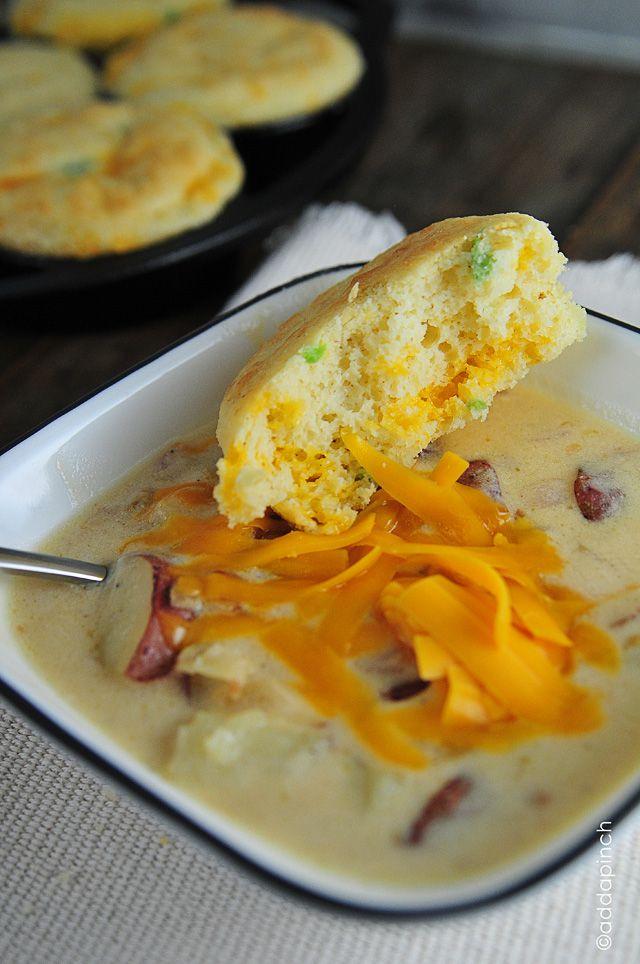 Loaded Baked Potato Soup | Recipe
