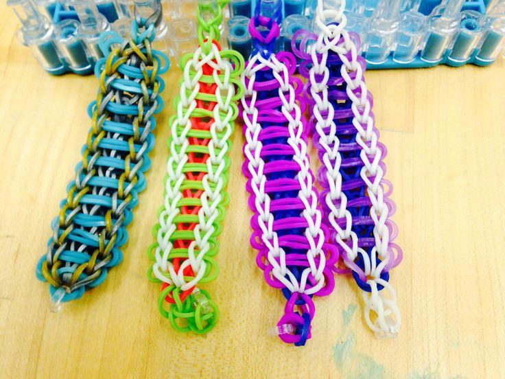 rainbow loom heart bracelet instructions