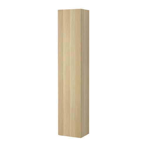 Ikea Kleiderschrank Raumteiler ~ GODMORGON High cabinet  White Stained Oak Width 15 3 4   Depth 11 3