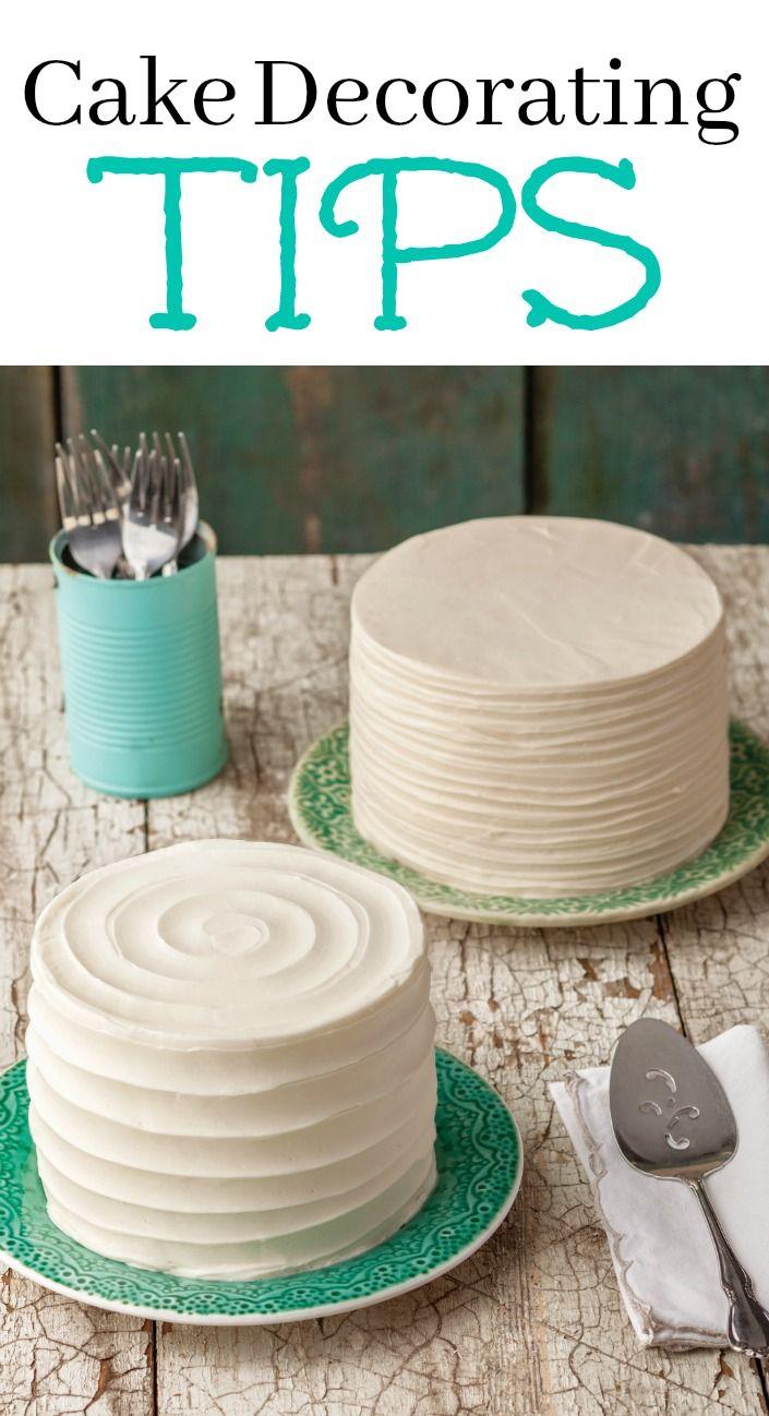 Fondant cake decorating simple