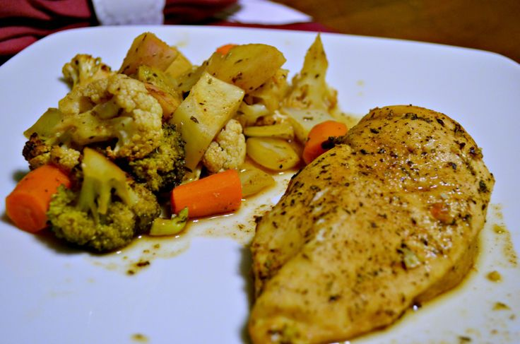balsamic roasted chicken and veggies | Healthy Recipes | Pinterest