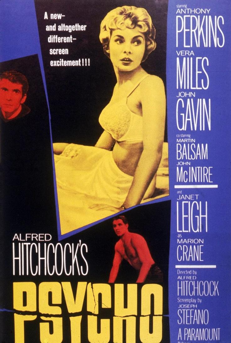 MOVIE POSTERS: PSYCHO (1960)   Vintage Suspense Movie ...