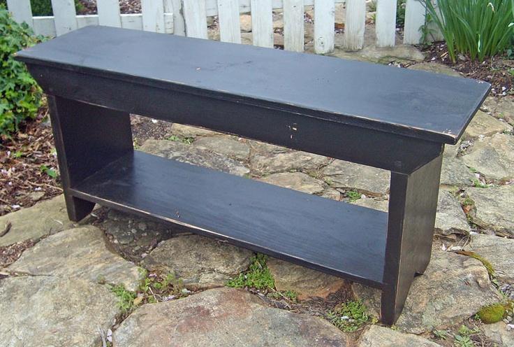 Entry bench idea