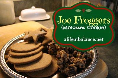 Joe Frogger (Molasses and Rum) Cookie | alifeinbalance.net