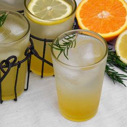 rosemary citrus spritzer   Drinks!   Pinterest