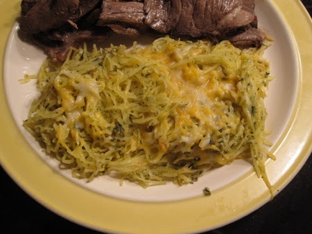 Baked Spaghetti Squash with Garlic and Butter Recipe | Key Ingredient