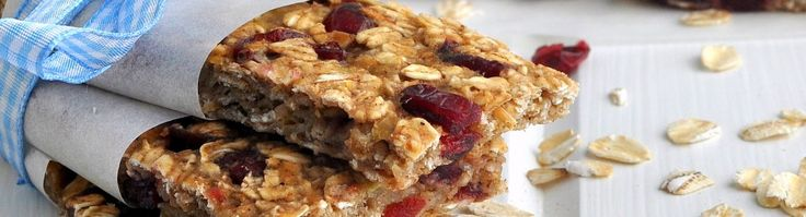 Low-fat Granola Bars with Bananas, Cranberries, and Pecans – The Way ...