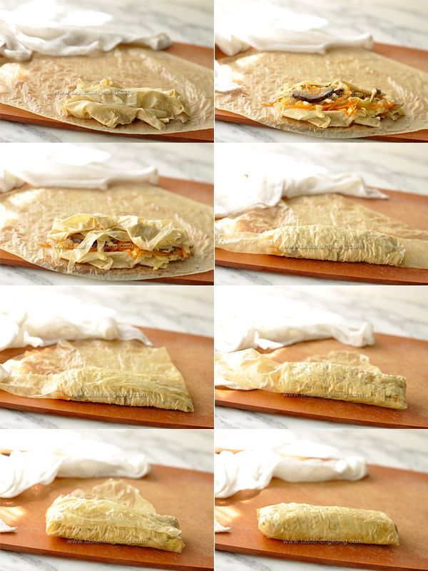 ... (bean curd sheet rolls) – a traditional Chinese vegetarian dish