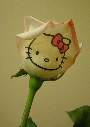 Hk rose tattoo | hello kitty | Pinterest