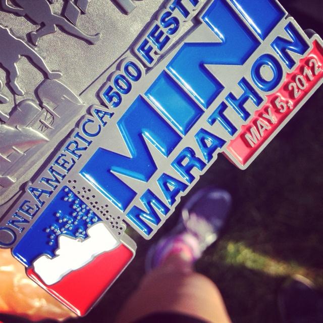 Indianapolis Mini Marathon 2012