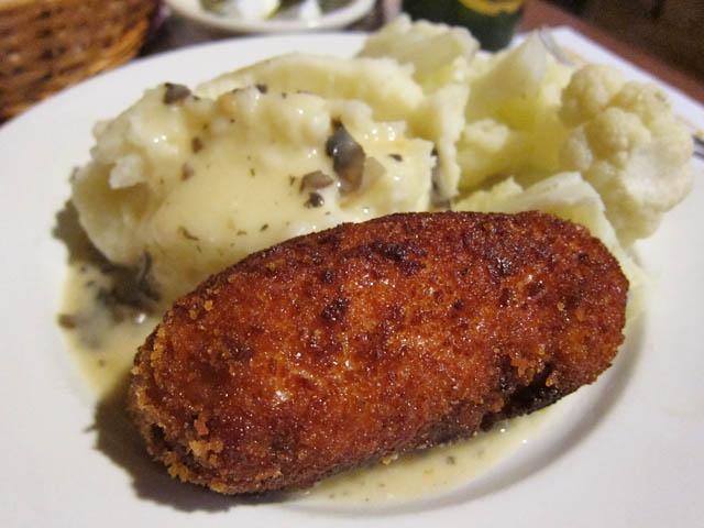 Chicken Kiev and Mash!! | Food!! | Pinterest