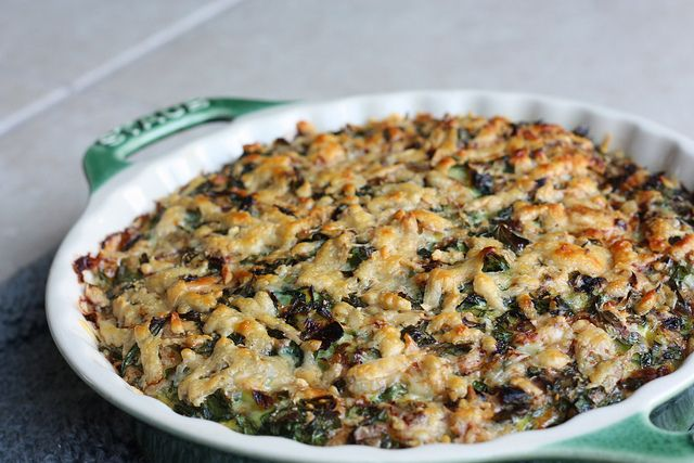 baked leek & spinach frittata | New Healthy Recipes | Pinterest