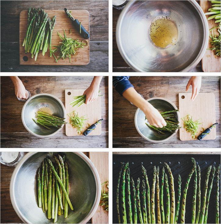 GRILLED ASPARAGUS PLATE + CILANTRO PEPITA PESTO - SPROUTED KITCHEN - A ...