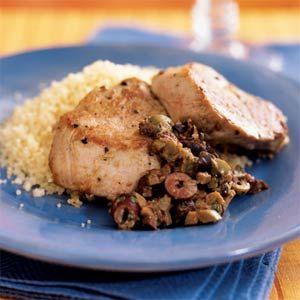 Pork Tenderloin with Olive-Mustard Tapenade - Definitely a winner ...