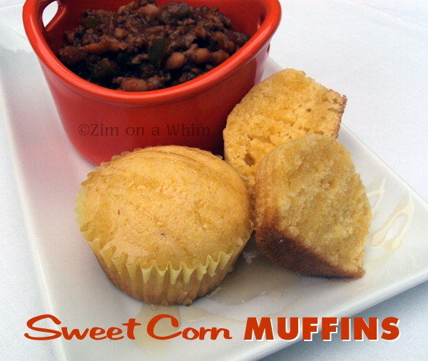 Sweet Corn Muffins | Zim on a Whim | Snacks for kids...and grown ups ...