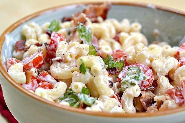 BLT Pasta Salad | Foods, Salads | Pinterest