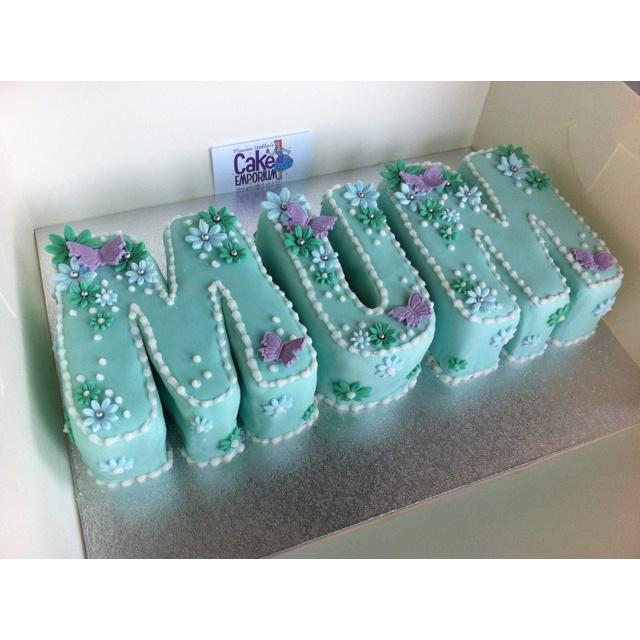 Mum birthday cake cakes Pinterest