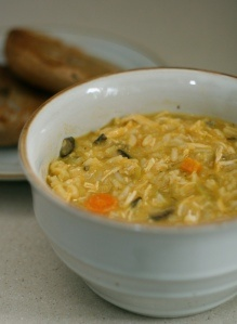 Chicken Shiitake and Wild Rice Soup | Sandra's Soup Sunday! | Pintere ...