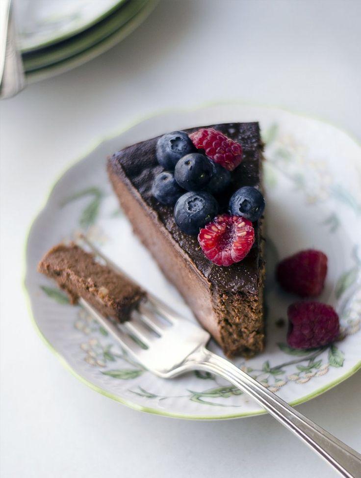 Vegan Chocolate Cheesecake | Chocolate | Pinterest