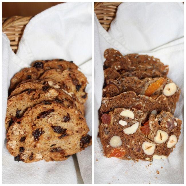 Gluten-Free Fruit and Nut Crisps (recipe courtesy of Jo Ledingham ...