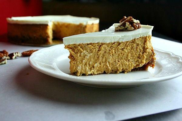 bourbon pumpkin cheesecake... | treats (pies & cheesecakes) | Pintere ...