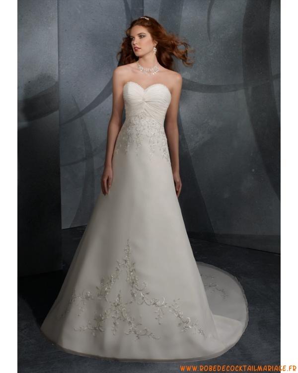 Robe de mariée avec broderie mousseline  Créateur robe de mariée ...