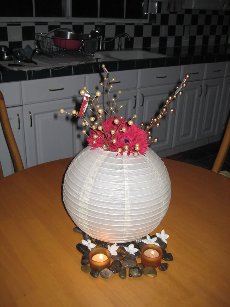Pin paper lanterns centerpieces in photo tattoo on pinterest