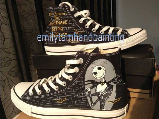 The Nightmare Before Christmas Custom by EmilyTamHandPainting, $95.00 ...