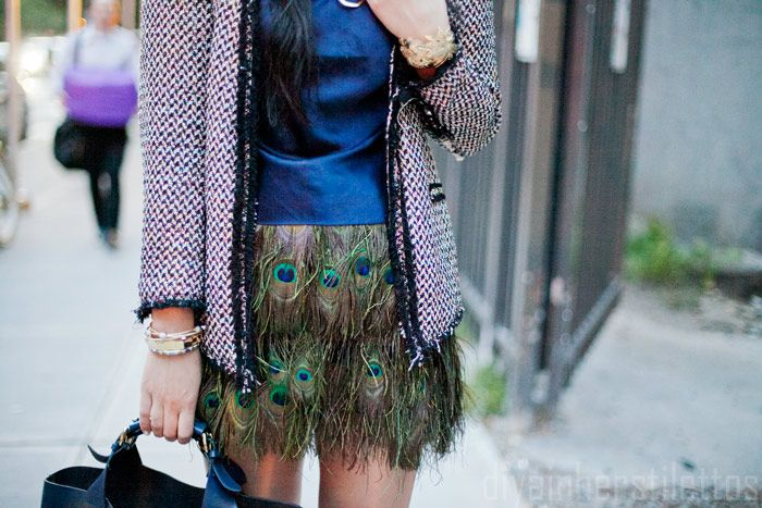 Peacock Feather Skirt 104