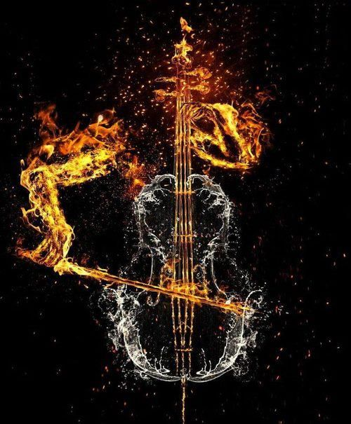 Music is light. music is fire. music is energy. music is life
