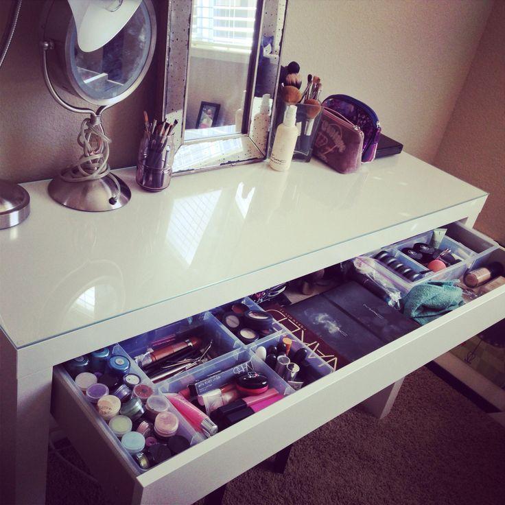 IKEA Malm Vanity Dressing Table