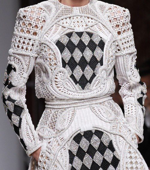Balmain's S/S 2013 collection..