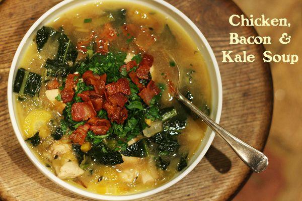 Chicken Bacon and Kale Soup | Stroud Green Larder | Pinterest