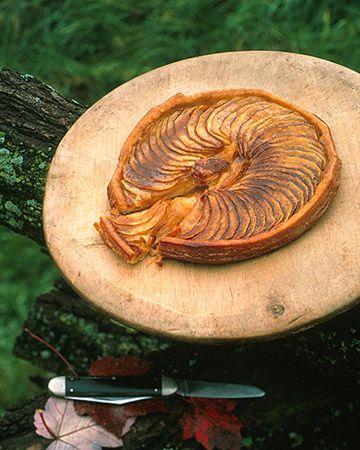 Caramelized Apple Galette   Recipe