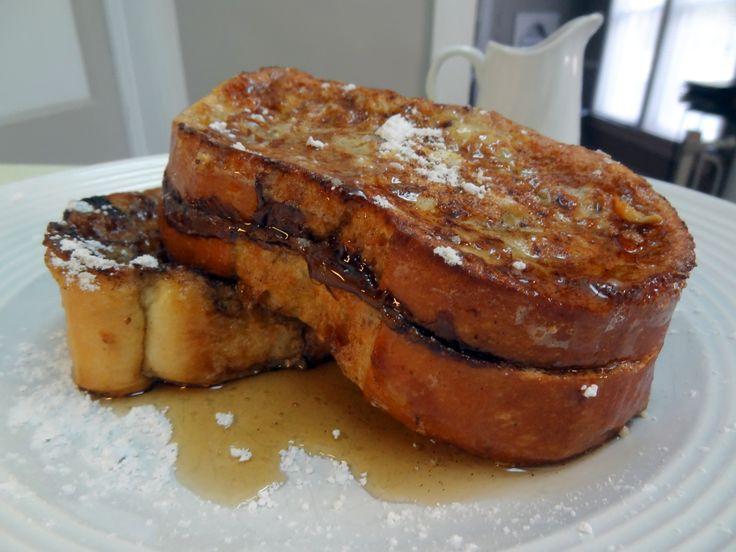 Nutella Stuffed French Toast   la douceur de vivre   Pinterest