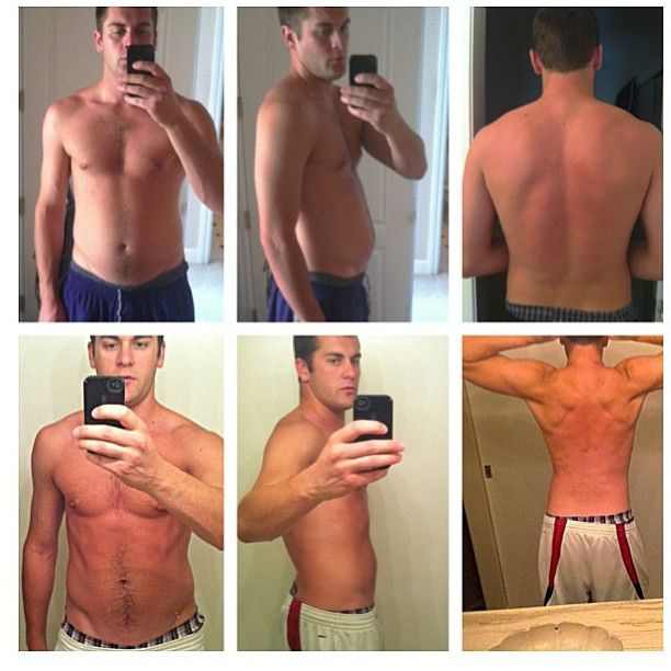 Another weight loss success!!! This one for the guys :) Nice job @zach ...