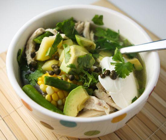 Colombian Chicken Soup | Recipe