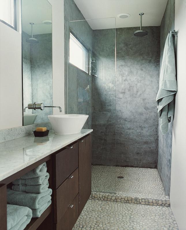 Pin by tiffany liley williamson on bathroom pinterest for Concrete bathroom floor