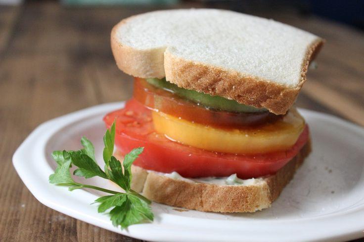 Heirloom Tomato Sandwiches | Recipes I Loved | Pinterest