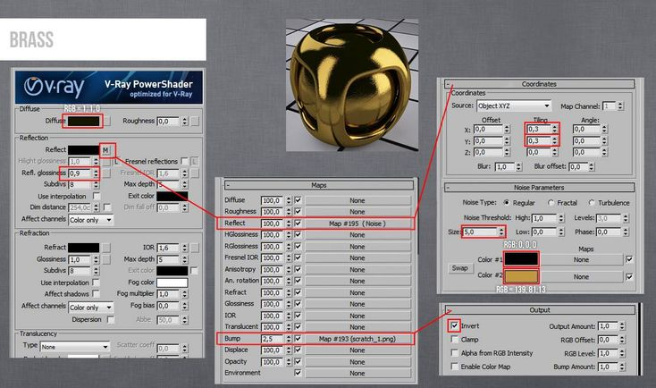 Как сделать хромированную поверхность в 3d max