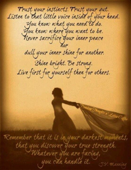 Inner strength Quotes Pinterest