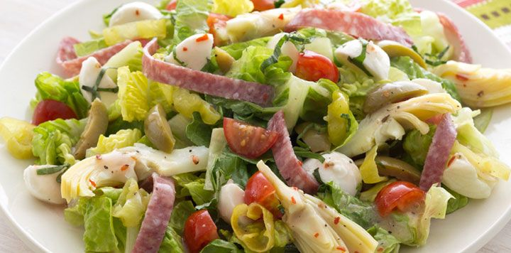 antipasto salad | eats | Pinterest